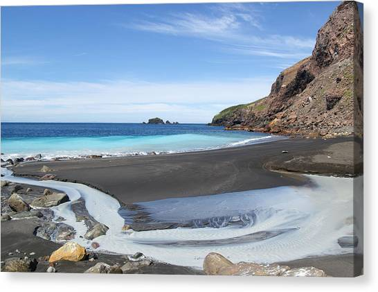 White Island In New Zealand Canvas Print by Jessica Rose