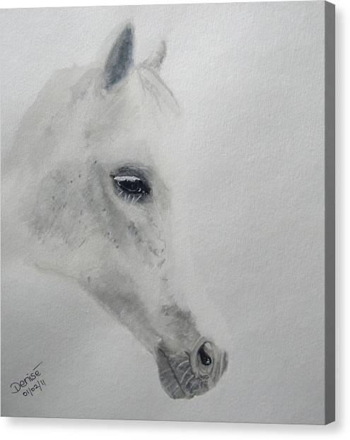 White Magic Canvas Print