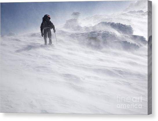 White Mountains New Hampshire - Extreme Weather Canvas Print