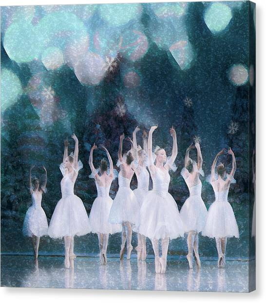 Canvas Print - White Night by Debra and Dave Vanderlaan