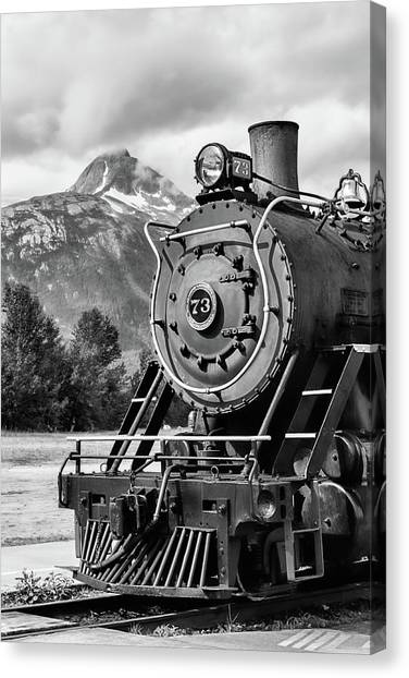 White Pass Railway Engine 73 Canvas Print