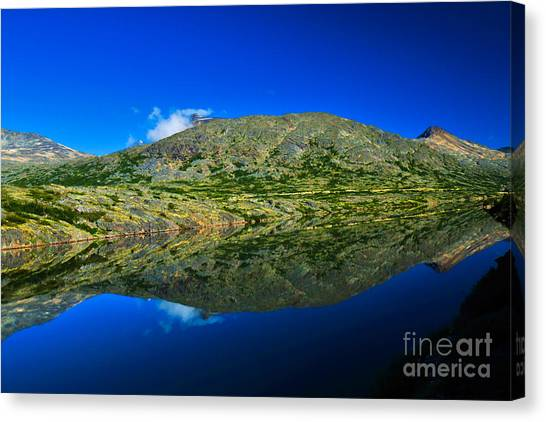 White Pass Reflections Canvas Print by Scott and Amanda Anderson