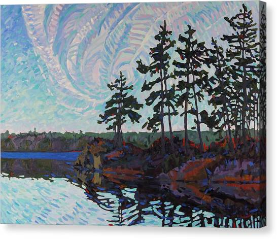 White Pine Island Canvas Print