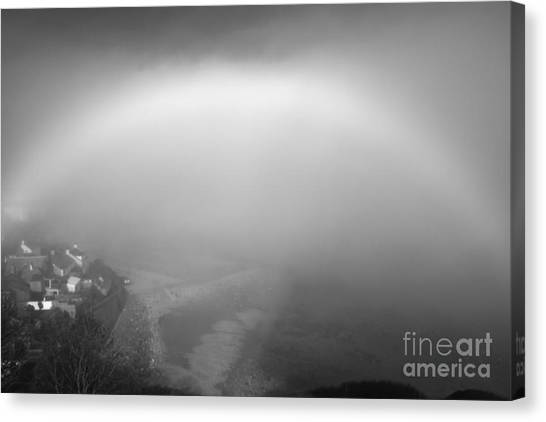 White Rainbow Canvas Print by Jason Christopher