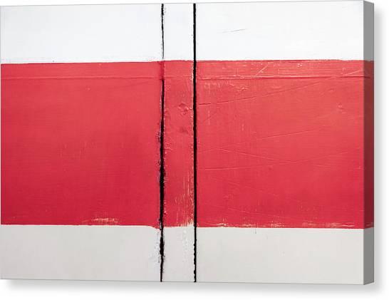 Canvas Print - White Red White by Richard Nixon