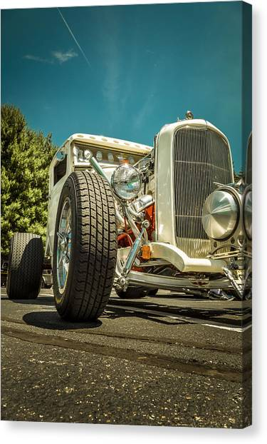 White Rod Canvas Print