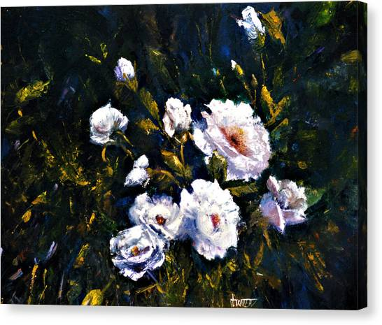 White Roses Canvas Print by Jimmie Trotter