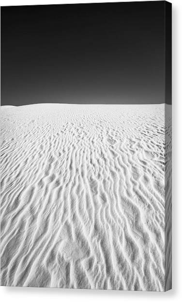 White Sands 3 Canvas Print