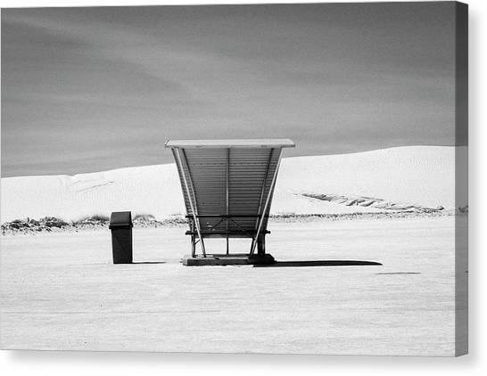 Canvas Print featuring the photograph White Sands National Monument #10 by Lou Novick