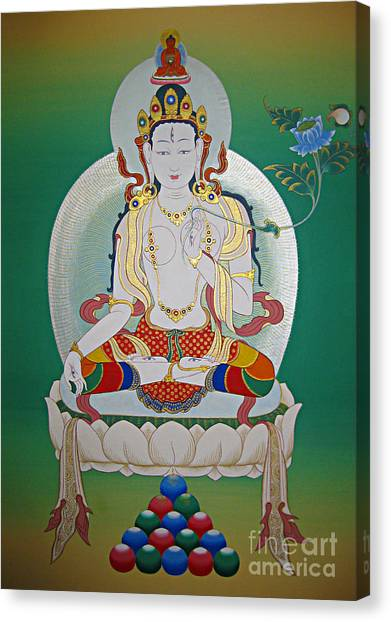 White Tara Canvas Print