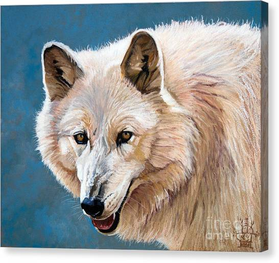 White Wolf Canvas Print