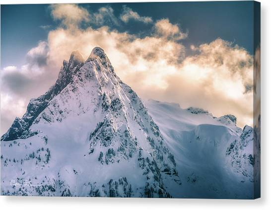 Whitehorse Clouds Canvas Print