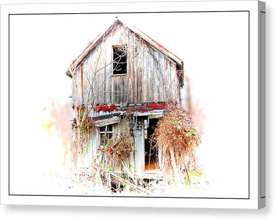 Whiteout In Opequon Canvas Print