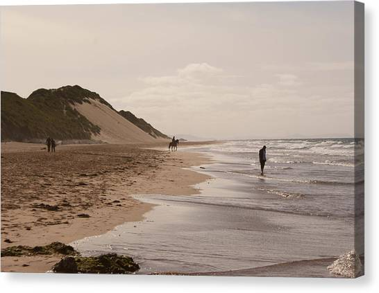 Whiterocks Beach Canvas Print