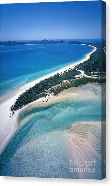 Canvas Print featuring the photograph Whitsunday Islands by Juergen Held
