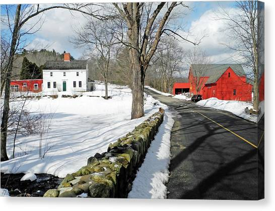Whittier Birthplace Canvas Print