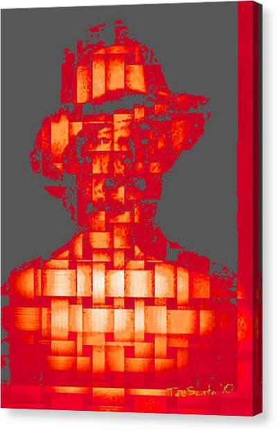 Who Am I   No. 5 Canvas Print by Teodoro De La Santa