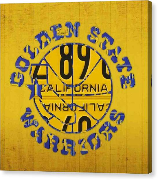 Basketball Canvas Print - Who Are You Rooting For In The #nba by Design Turnpike
