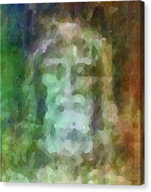 Shrouds Canvas Print - Who Do Men Say That I Am - The Shroud by Glenn McCarthy Art and Photography