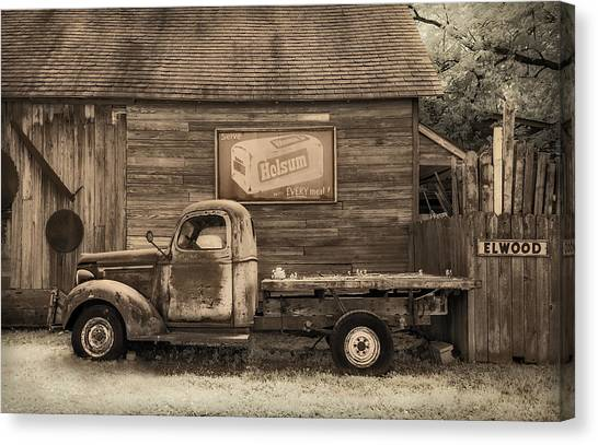Bread Truck Canvas Print