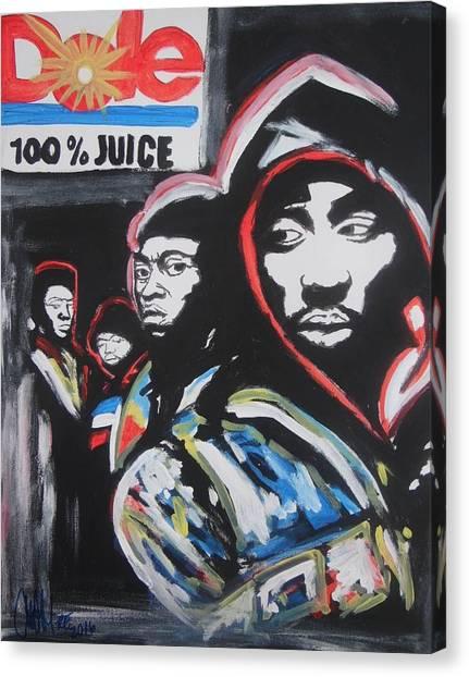 Whos Got Juice Canvas Print