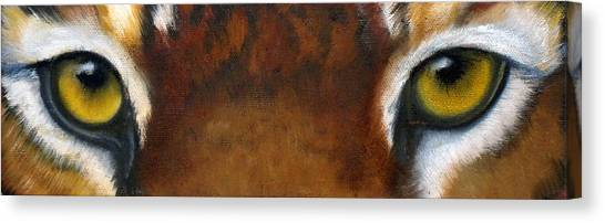 Bengal Tiger Canvas Print - Whos Watching Who   Tiger by Darlene Green