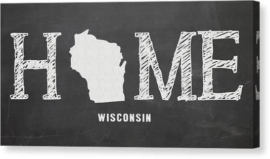 Wi Home Canvas Print