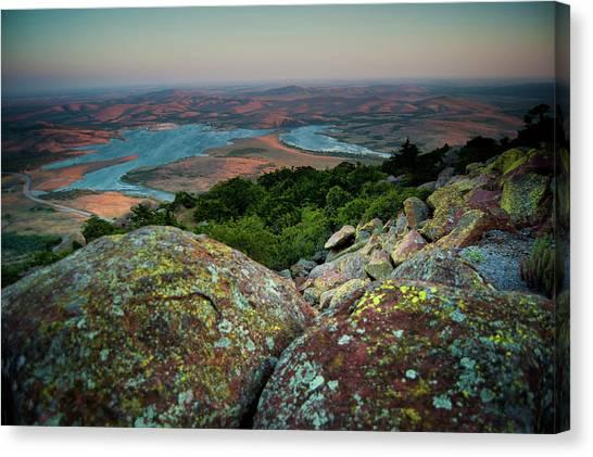 Wichita Mountains In Lawton Canvas Print