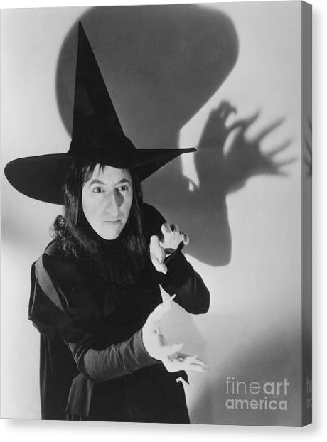 Wizard Canvas Print - Wicked Witch Of The West by Granger