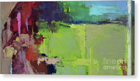 Canvas Print - Wide Abstract 2018a by Becky Kim