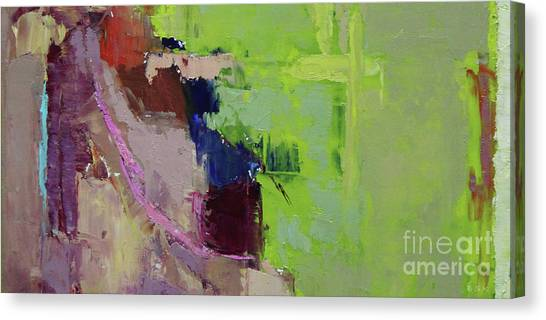 Canvas Print - Wide Abstract 2018b by Becky Kim