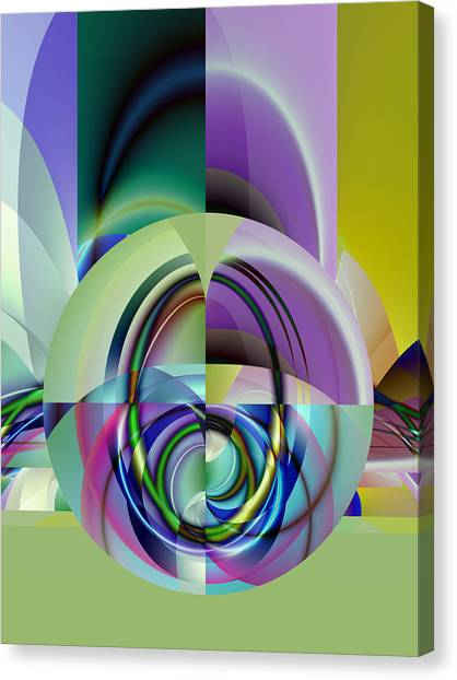 Wide Eye Canvas Print by Frederic Durville
