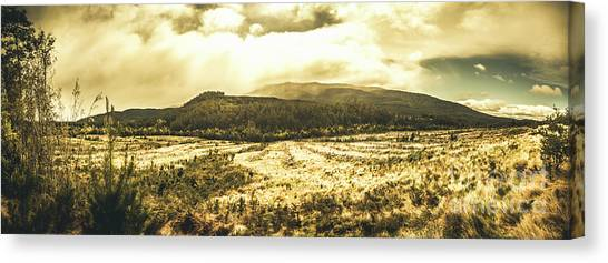 No-one Canvas Print - Wide Open Tasmania Countryside by Jorgo Photography - Wall Art Gallery