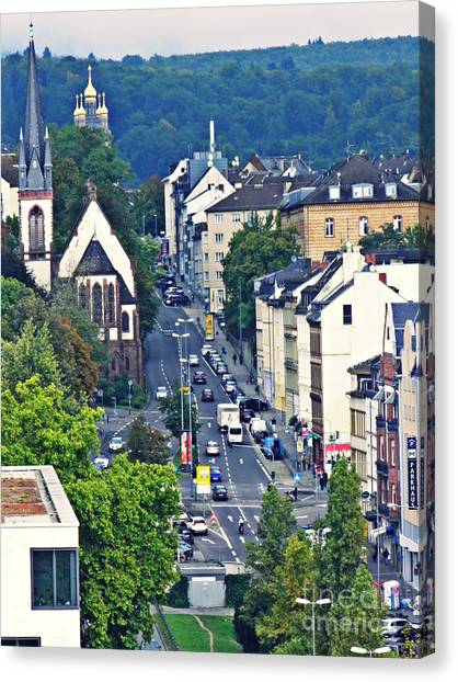 Canvas Print - Wiesbaden 1 by Sarah Loft