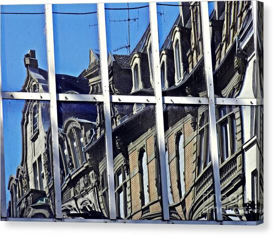 Canvas Print - Wiesbaden In Reflection by Sarah Loft