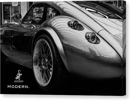 Wiesmann Mf4 Sports Car Canvas Print