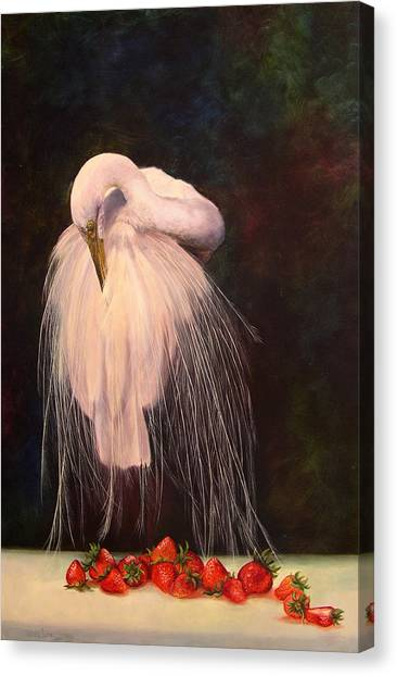 Wild And Sweet 1 Canvas Print by Valerie Aune