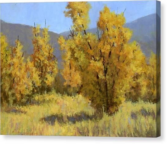 Fall Canvas Print - Wild Autumn by David King