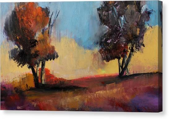 Wild Beautiful Places Trees Landscape Canvas Print
