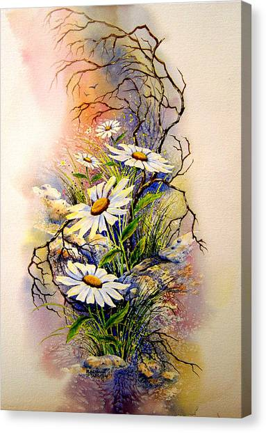 Wild Daisies Canvas Print by Brooke Lyman