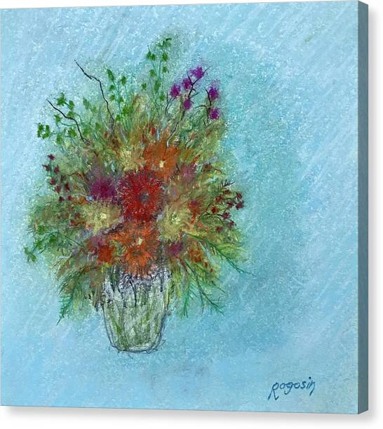 Wild Flowers Canvas Print by Harvey Rogosin