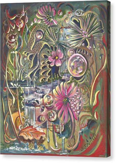 Wild Honeycomb Canvas Print