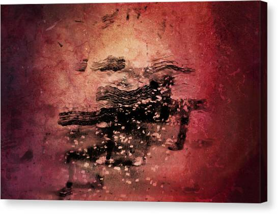 Abstract Horse Canvas Print - Wild Horses by Az Jackson