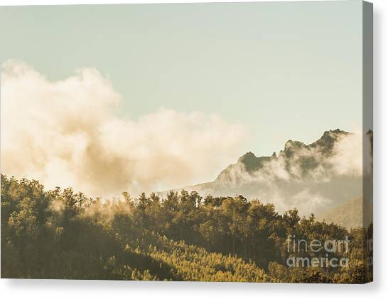 View Canvas Print - Wild Morning Peak by Jorgo Photography - Wall Art Gallery