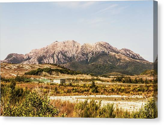 Mountain West Canvas Print - Wild Mountain Range by Jorgo Photography - Wall Art Gallery