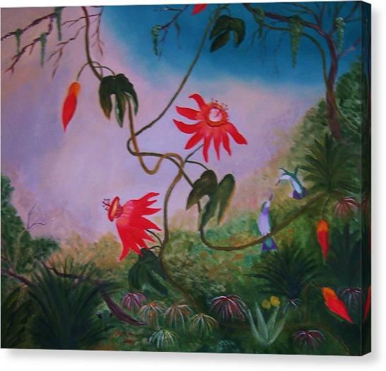 Wild Orchids Canvas Print by Alanna Hug-McAnnally