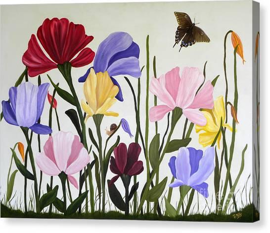 Wild Tulips Canvas Print