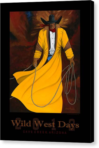 Lance Headlee Canvas Print - Wild West Days 2012 by Lance Headlee