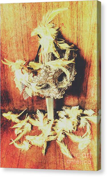 Masquerade Canvas Print - Wild West Saloon Dancer Still Life by Jorgo Photography - Wall Art Gallery