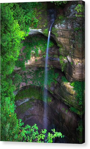 Wildcat Canyon Falls Canvas Print
